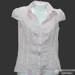 Женская блузка короткий рукав, р. 42-44