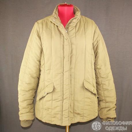 Симпатичная утепленная женская куртка р. 48-50