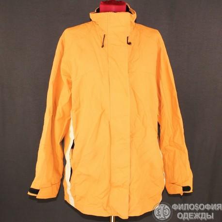 Спортивная женская куртка с капюшоном р. 52-54