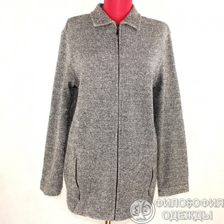 Легкая женская курточка на молнии Karen Scott, размер 44-46
