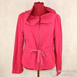 Легкий женский пиджак, куртка, на молнии Zara Women, размер 44-46