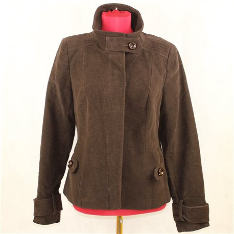 Мягкая коричневая курточка Alwear, размер 42-44