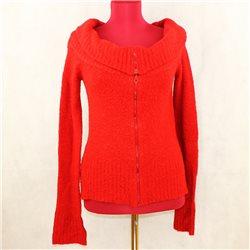 Женский яркий свитер, кофта, на молнии, разм. 38-40