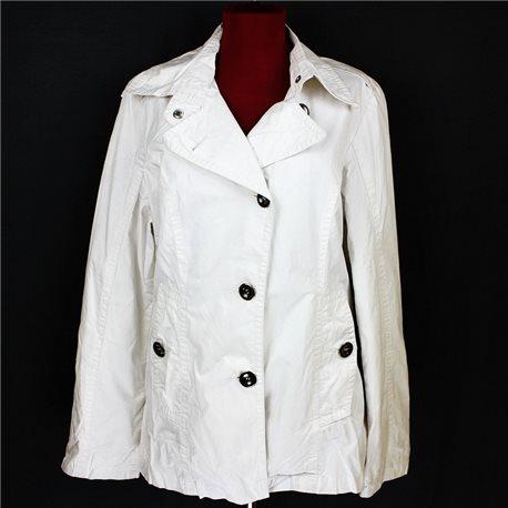 Белая женская куртка 46-48