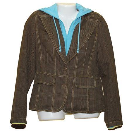 Спортивный пиджак Fishbone с капюшоном, р. 44-46
