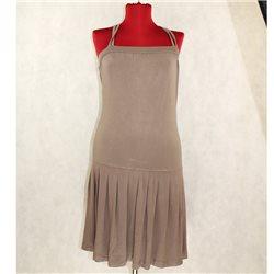 Женское тянущееся серое платье Soft Grey, р. 40-42