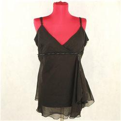 Женское легкое черное платье H&M размер 48-50