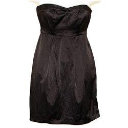Коротенькое черное вечернее платье Clockhouse р. 36-38