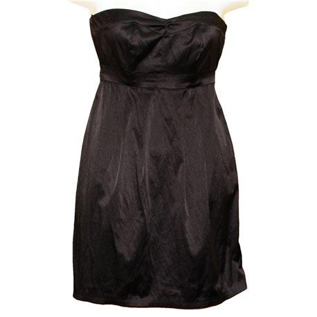 Коктейльное черное платье Clockhouse р.