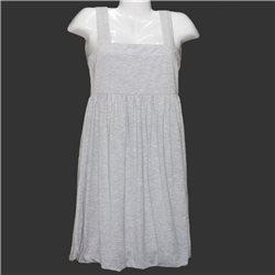 Удобное тянущееся серое платье Y.o.u. р.