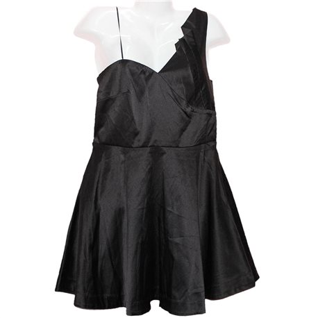 Черное модное новое платье Fishbone р.