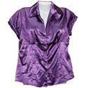 Итальянская красивая кофточка фиолетового цвета 17&Co р. 46-48