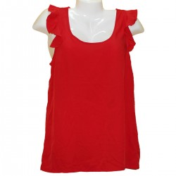 Красная легкая блузка Vero Moda р. 42-44