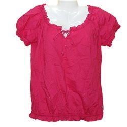 Легкая хлопковая интересная блузка QS р.52-54 секонд хенд