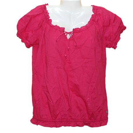 Легкая хлопковая интересная блузка QS р.52-54