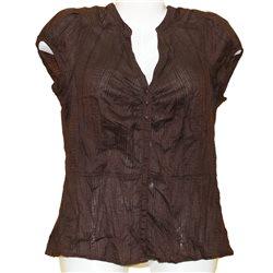 Классная женская хлопковая блузка без рукавов H&M р. 44-46