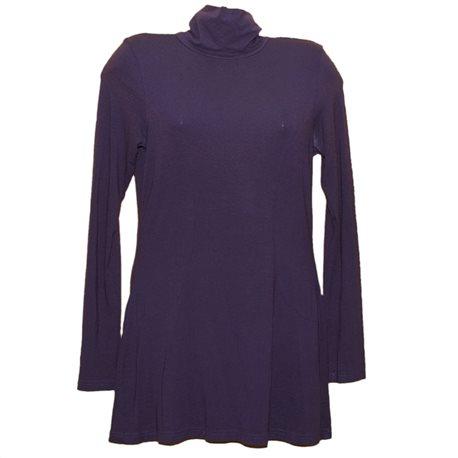 Элегантное фиолетовое платье с горлом H&M р. 42-44
