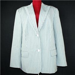 Серый женский пиджак 58-60 Bianca