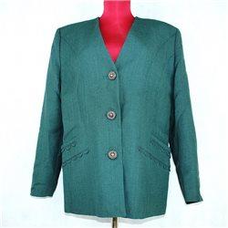 Пиджак женский 54-56 темно-зеленый
