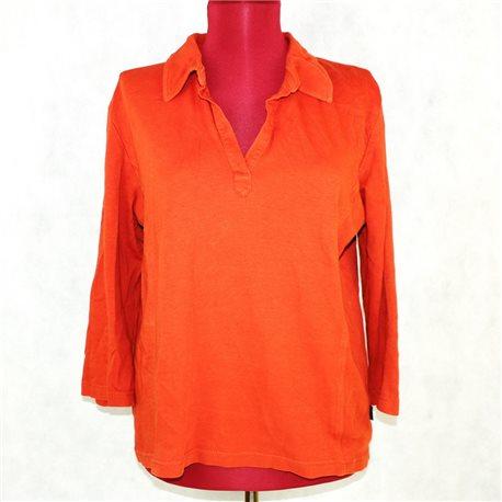 Блузка оранжевая 52-54 Cecil