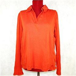 Блузка женская оранжевая 56-58 Cecil