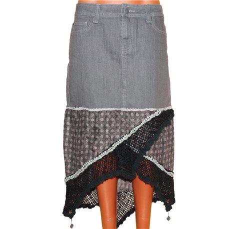 Роскошная необычная дизайнерская юбка р. 44-46