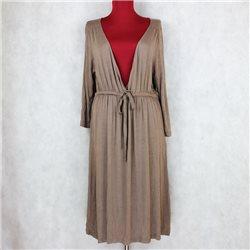 Кофейное платье 50-52 женское