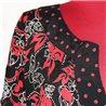 Красно-черая блузка 70-72 SimplyBe