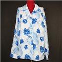 Белая итальянская женская блузка р. 58-60