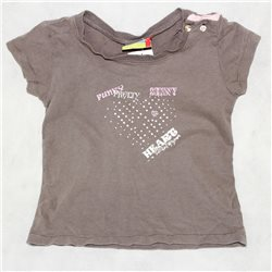 Серая детская футболка Topolino р. 30-32