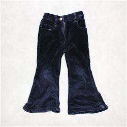 Удобные синие детские вельветовые штаны 28-30