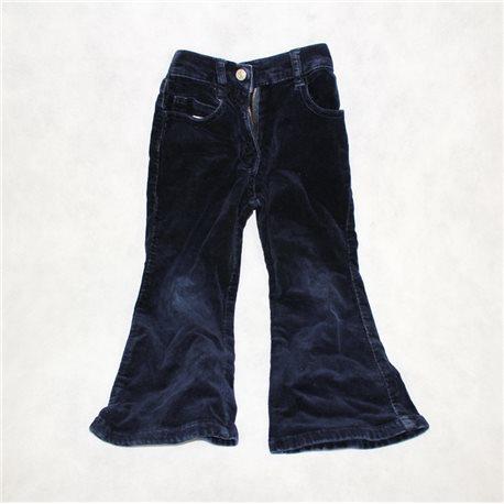 Синие детские вельветовые штаны 28-30