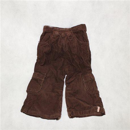 Детские коричневые вельветовые штаны 22-24