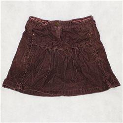 Вельветовая детская юбка 38