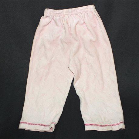 Мягкие розовые детские штаны 22-24