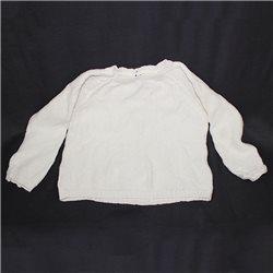 Белый вязаный свитшот р. 40-42 Girl's Collection