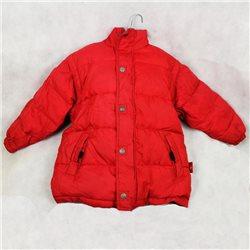Яркая красная куртка р.46-48