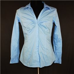 Женская рубашка р. 50-52 голубая Amisu