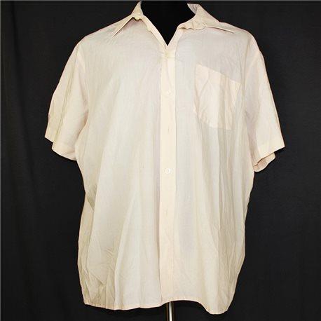 Легкая летняя белая рубашка р. 64-66 мужская