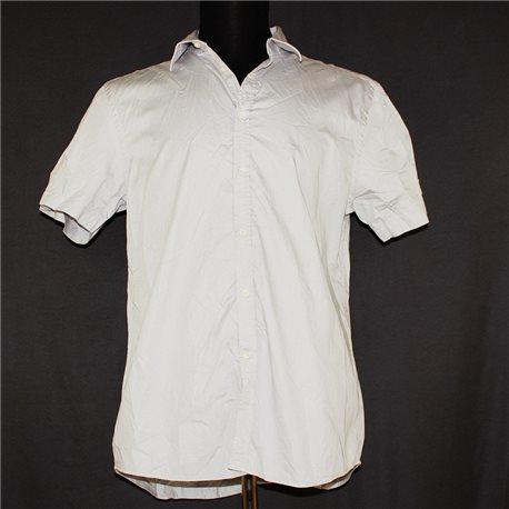 Серая летняя рубашка р. 52-54 H&M