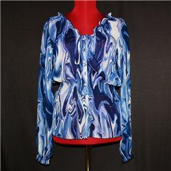 Женская блузка р. 44-46 синяя Lingon&Blabar