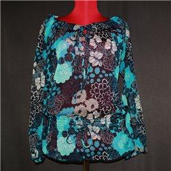Блузка Gina Benotti р.46-48 синяя летняя