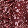 Блузка на завязках р. 48-50 Zabaione с цветочным принтом