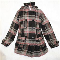 Клетчатое пальто р. 40-42 детское Y.D.