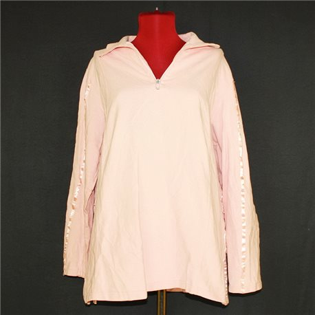 Розовая кофта р. 56-58