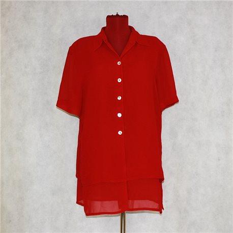 Красная блузка р. 54-56 Giorgio
