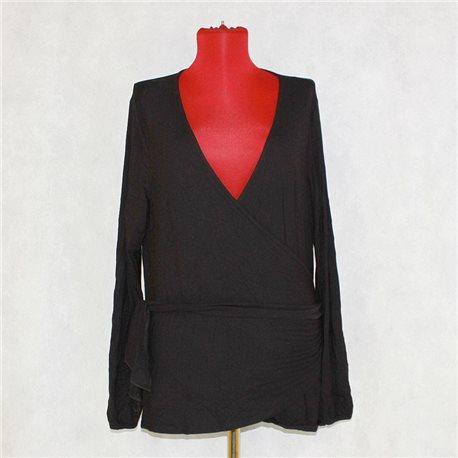 Женская блузка р. 50-52 с запАхом Blooming Marvelous