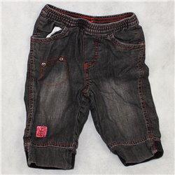 Джинсовые штаны р. 20 с резинками на поясе и лодыжках