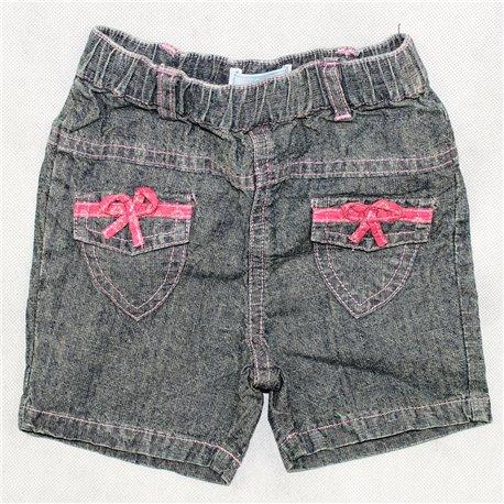 Бриджи джинсовые детские р. 18-20 с бантиками Colin
