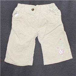 Вельветовые штаны Bambin детские с вышивкой